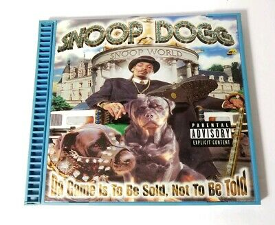 SNOOP DOGG : Da Game Is To Be Sold Not To CD - $3 89 | PicClick