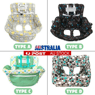 Baby Shopping Trolley Cover Soft Cart Seat Cushions High Chair Mat Pad Portable
