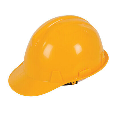 Silverline Yellow Adjustable Harness Safety Hard Hat (306429)