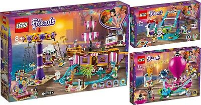 LEGO ® Friends 41375 41373 41337 Vergnügungspark von Heartlake City N7/19