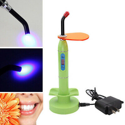 Hot Dental Wireless Cordless LED Curing Light Lamp 2000mw Tools For Dentist