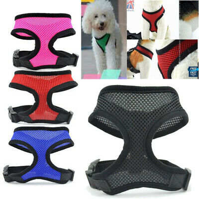 All Pet Solutions Dog Puppy Harness Soft Adjustable Reflective Comfortable Vest