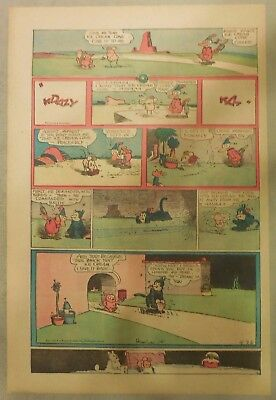 Krazy Kat Sunday by George Herriman from 4/26/1942 Tabloid Size Page