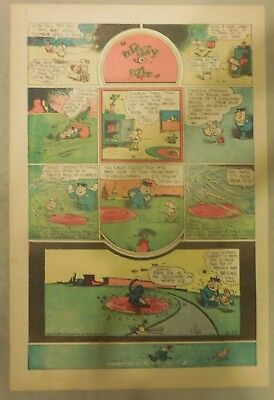 Krazy Kat Sunday by George Herriman from 10/25/1942 Tabloid Size Page