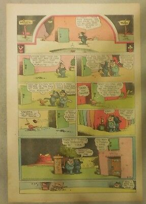 Krazy Kat Sunday by George Herriman from 2/22/1942 Tabloid Size Page