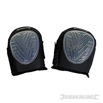 Silverline One Size Gel Knee Pads with adjustable elastic straps (633711)