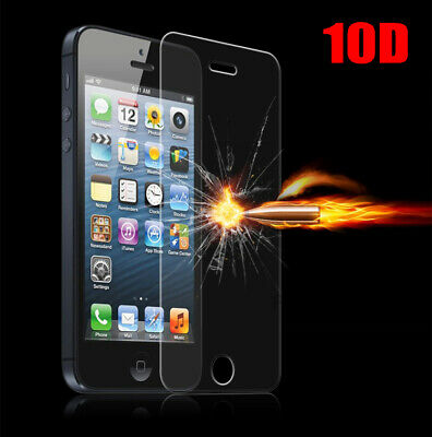10D 9H Tempered Glass For iPhone XR XS X 8 7 Screen Protector Full Curved Guard