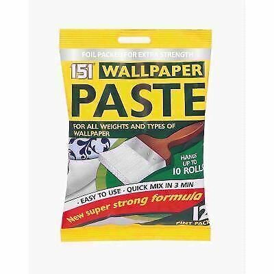 2 Extra Strong Wallpaper Paste Super Strong Stick Adhesive All Purpose Wall DIY