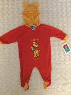 Winnie the Pooh Disney Trick or Treat One piece outfit Unisex Baby Halloween