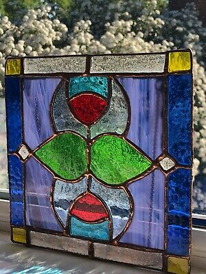 Stained Glass Suncatcher Beautiful Traditional Piece