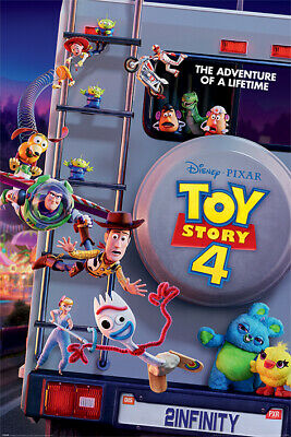Toy Story 4 (Adventure Of A Lifetime) Maxi Poster 61cm x 91.5cm PP34503 - 279