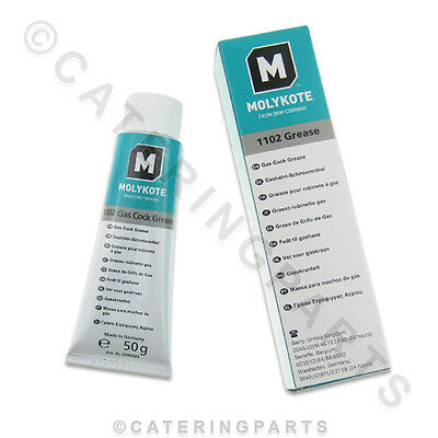 MOLYKOTE / DOW CORNING ISOLATING GAS TAP / COCK / ISOLATOR VALVE GREASE 50g TUBE