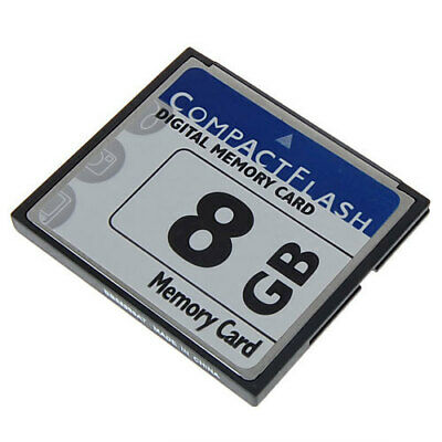 Speicherkarte 8 GB Compact Flash CF Karte für Kameras Gps Mp3 Laptop Pdas