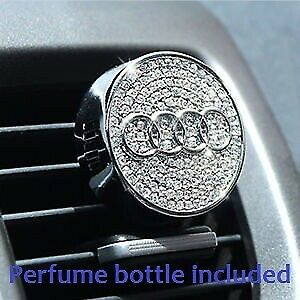 AUDI Crystal Rhinestone Air Vent Freshener Decoration fits all models