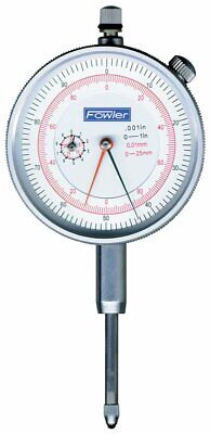 Fowler Inch/Metric Reading Dial Indicator 52-530-110-0