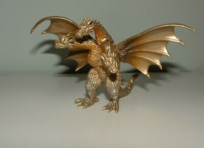 GODZILLA figure KING GHIDORAH monster ghidra ghidora BANDAI mothra megalon gigan