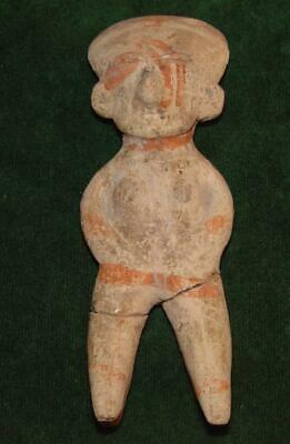 Pre-columbian Large Chinesco - Nayarit Figure from West Mexico,100 B.C.-450 A.D