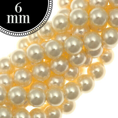 Swarovski 5810 Pearl Beads 4 6 8 10 12MM Mixed Pack of 50PC 100 PC