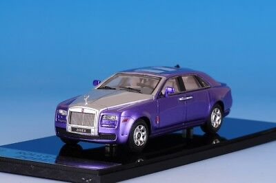 1 43 Camater Resin Model Rolls Royce RR 200EX V12 Purple Metallic Silver 2009