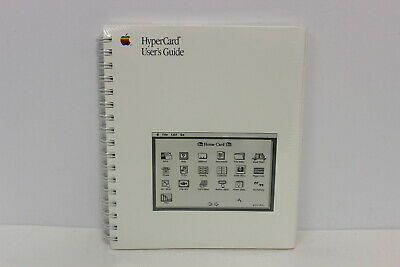 Apple Hypercard User's Guide 030-3081-D New In Shrink Wrap