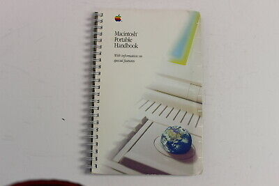 Apple Macintosh Portable Handbook 030-3930-B