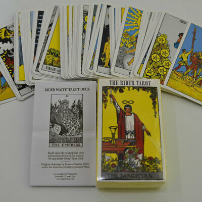 78pcs Divination Playing Cards English Version Party Read The Mythic Fate Cards