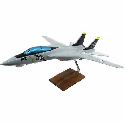 Grumman F-14A Tomcat VF-84 Jolly Rogers Limited Edition Large Mahogany Model