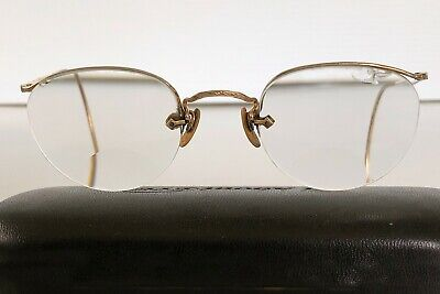Vintage Antique AO American Optical Eyeglasses Glasses 12K Gold Filled DECO '30s