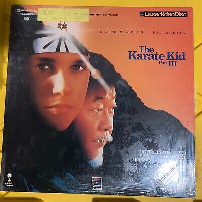 "The Karate Kid Part III - 12"" Laserdisc Buy 6 for free shipping"