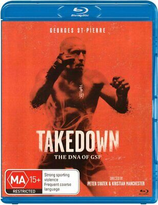 Takedown: The Dna Of Gsp [Non-Usa Format Region B] (Blu-Ray) Not Sealed