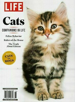 Cats Life Magazine Special Edition 2019 Companions in Life - FREE SHIP