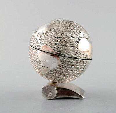 Rare Claude Picasso for Christofle. Sculpture, silver plated bronze