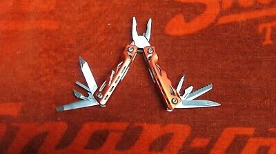 Snap On Tools 14 In 1 Mini Multi Tool  Car Boat Camping Fishing