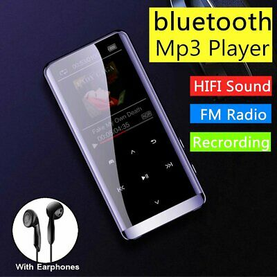 16GB bluetooth MP3 Player HIFI Sports Music MP4 Portable FM Radio Voice Recorder