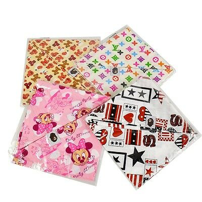 1Pc Baby Kids Cotton Cartoon Bandana Bibs Feeding Saliva Towel Dribble Triangle