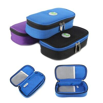Insulin Pen Case Pouch Cooler Travel Diabetic Pocket Cooling Oxford Fabric Bag