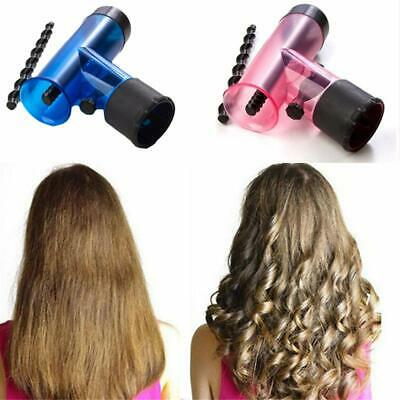 Pro Hair Curler Diffuser Wind Dryer Spin Detachable Curl Hair Roller Free P&P