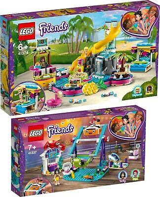 LEGO Friends 41374 41337 Andreas Pool-Party und Schaukel mit Looping N7/19