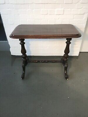 A Late Victorian Antique 2 Mahogany Hall Table