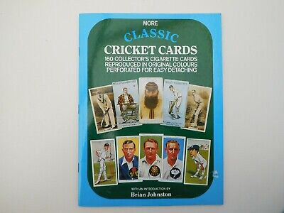Cigarette Cricket Cards Book Vintage 1981 ( Reproduced In A Book Type Thingey )