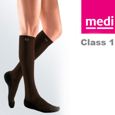 MEDIVEN active stocking CCL 1 - Below the Knee, Size 1 - BROWN (1 pair)