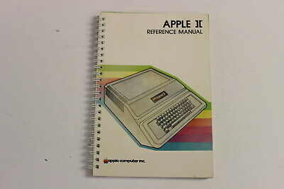 Apple ][ Reference Manual Apple Ii Reference Manual 030-0004-C A2L0001A