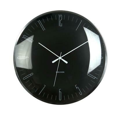 Karlsson Dragonfly 40cm Home or Office Domed Wall Clock - Silent Sweep Movement
