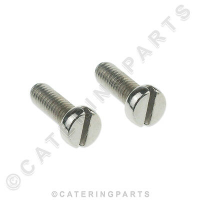 BONZER CRBZ0152 PACK OF 2 x BLADE SCREWS COMMERCIAL CAN OPENER screws CO10260