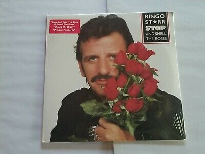 Sealed Ringo Starr Stop And Smell The Roses Lp 1981 Boardwalk Records 33246