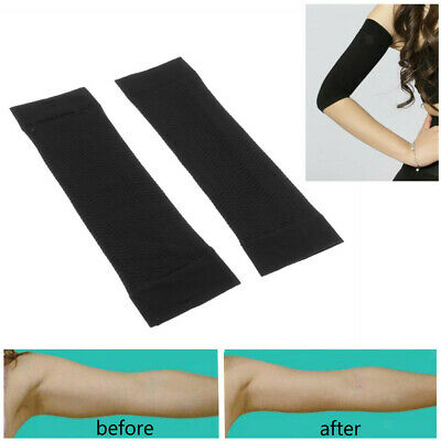 2x Slimming Weight Loss Arm Shaper Fat Buster Off Cellulite Belt Wrap Bands