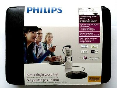 Philips Professional LFH0895 Digital Pocket Memo Voice Recorder for meetings