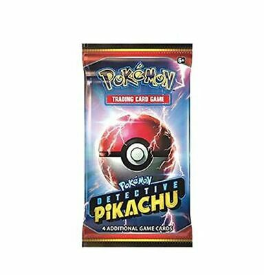 Detective Pikachu Exclusive Booster Pack - (4 Cards All Holo) USA SELLER