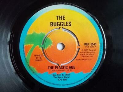 "BUGGLES The Plastic Age 7"" vinyl"