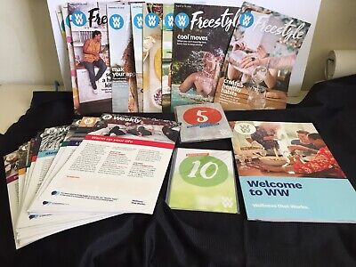 WW  Weight Watchers charms 5 & 10 Pounds plus weeklies and free style recipes